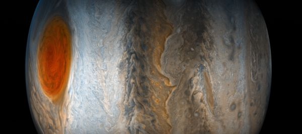 Jupiter's Closeup