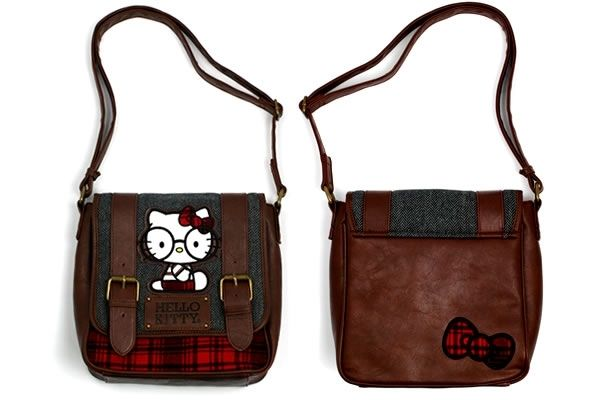 Hello Kitty Nerd With Glasses Crossbody Bag 937e8bd1c4b8b