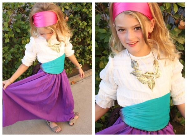 25 easy diy halloween costumes you can make last minute neatorama esmeralda for the youngsters who want to be a gypsy this hunchback of notre dame costume is super easy as this mama makes stuff shows solutioingenieria Choice Image