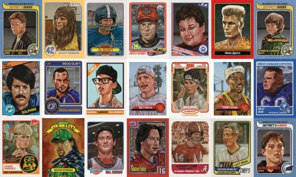 sports trading cards project