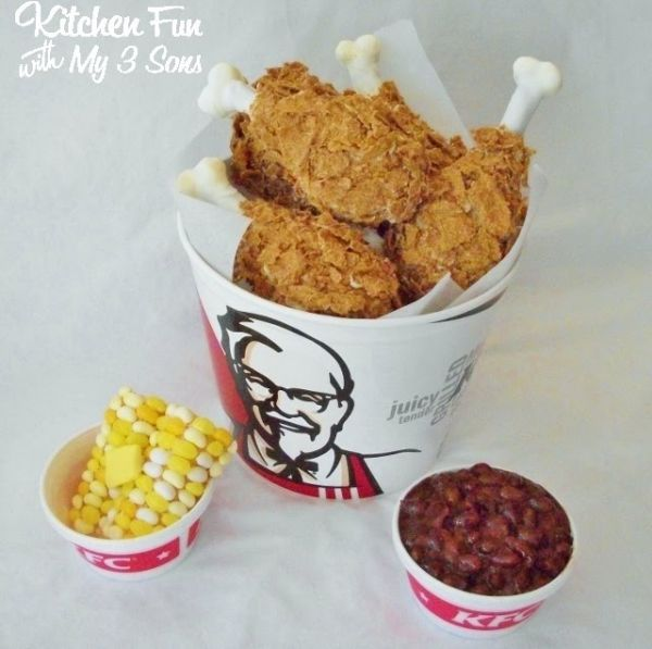 Kentucky Fried Chicken meal
