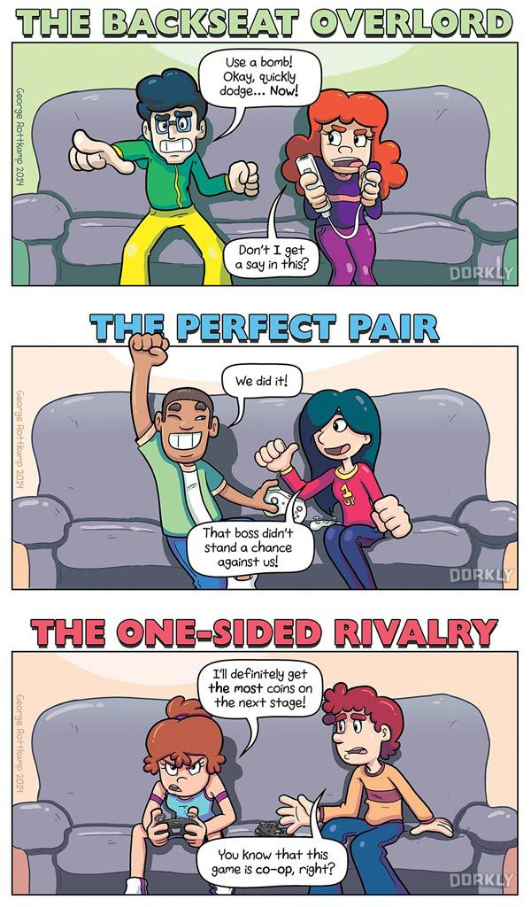 types of girl gamers relationship