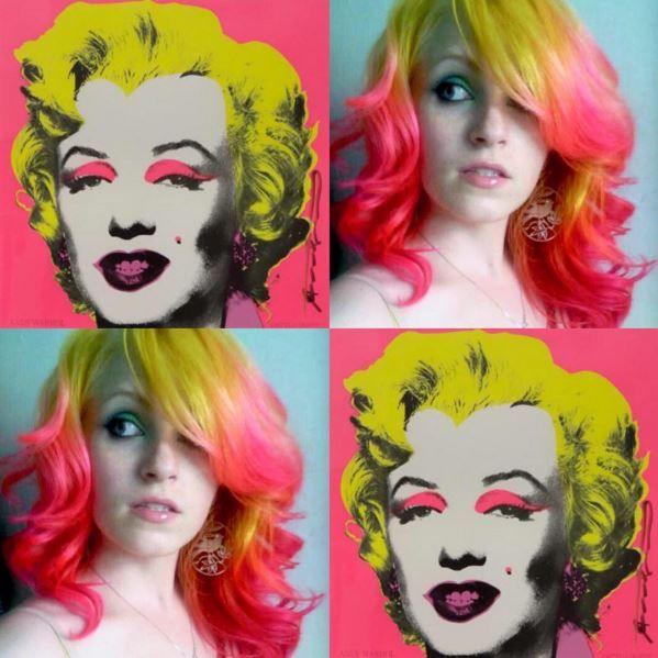 Hair Dyeing Interpretations of Famous Works of Art - Neatorama