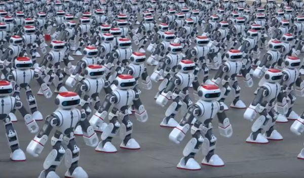1,069 Dancing Robots Set a World Record