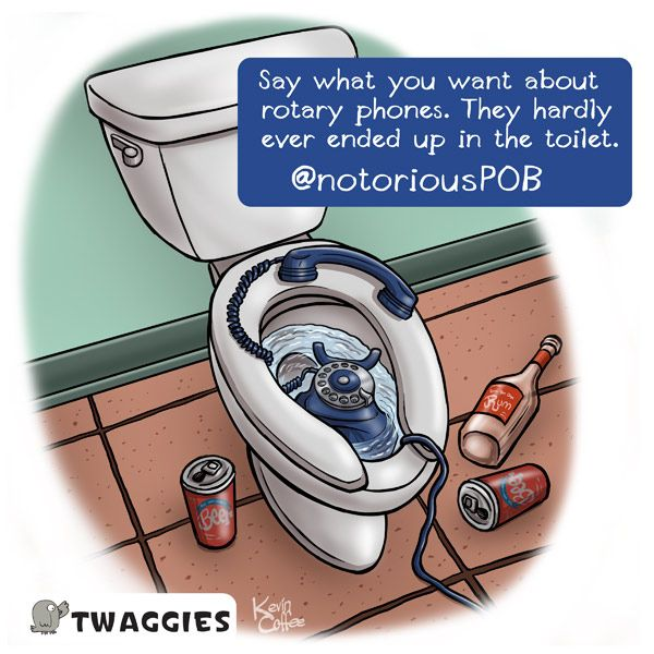 rotary phone cartoon