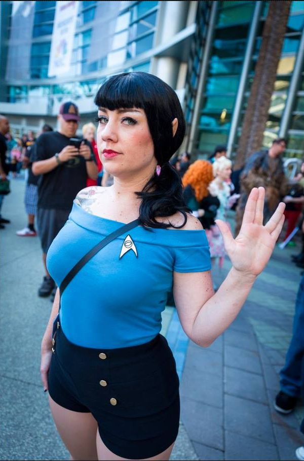 14 Great Works Of Spock Cosplay Neatorama