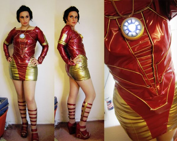 Iron Man cocktail dress