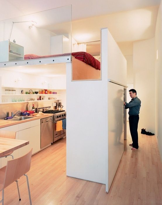 15 Examples of the Super-Cool Loft Bed for Grownups - Neatorama