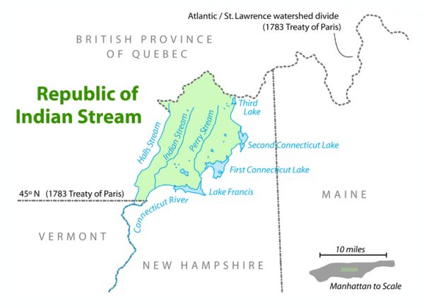 The Indian Stream Republic A Little Nation On The Us Canadian Border Neatorama