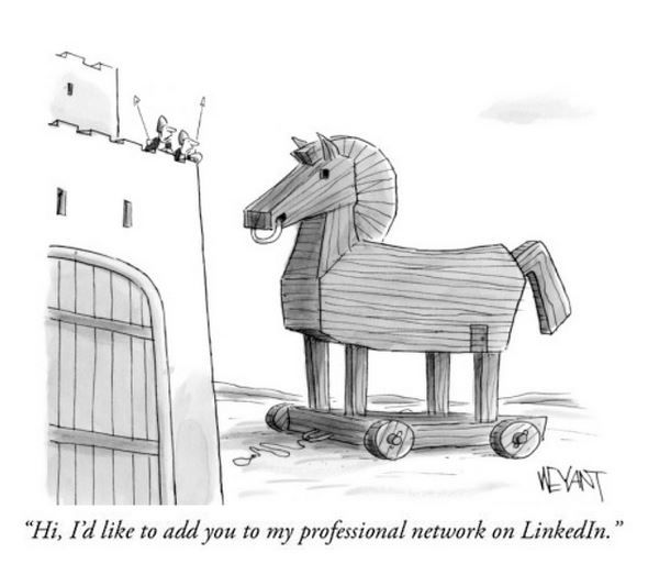 Every New Yorker Cartoon Can Solicit You For Linkedin