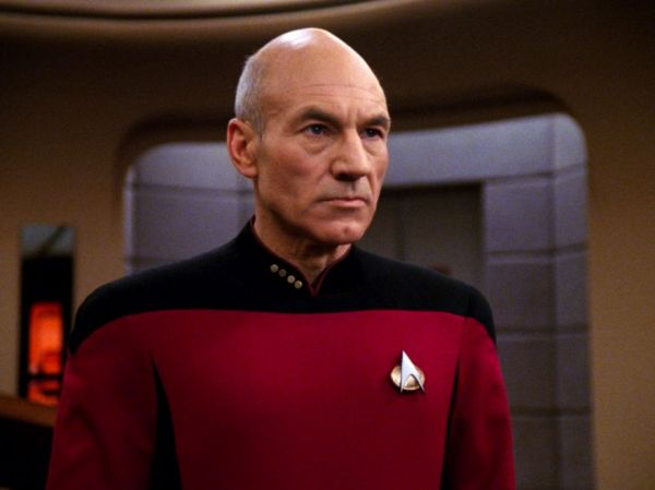 The Original Plan Was for Captain Picard to Speak in a ...