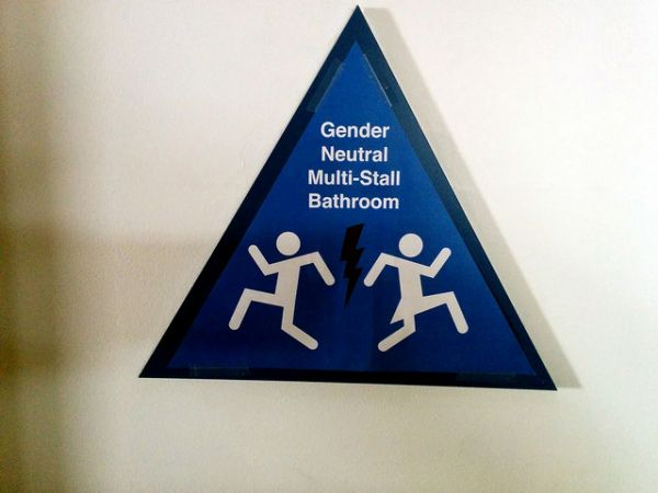 Gender-neutral Restroom Signs