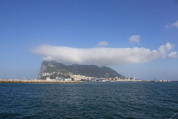 Photo Clouds Flowing Over The Rock Of Gibraltar Neatorama
