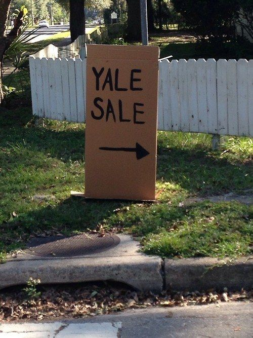 yard sard and other delights