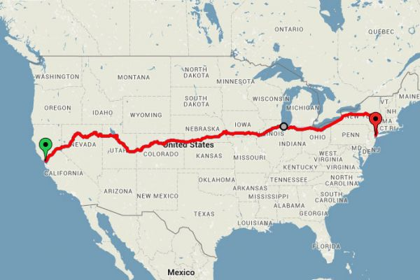 Travel Blogger Derek Low Loves To Travel By Train, So He Figured Out A Way  To Make The 3,400 Mile Long Trip Without Breaking The Bank Via Amtraku0027s ...