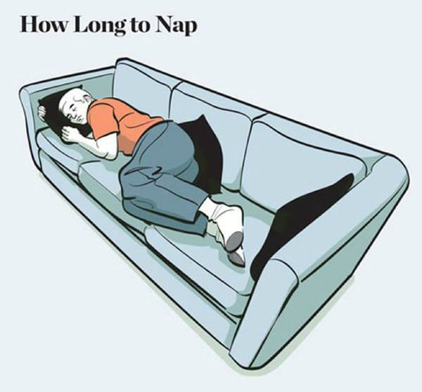How Long To Nap For The Biggest Benefits