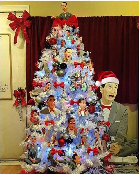 A Pee-wee Herman Christmas Tree - Neatorama