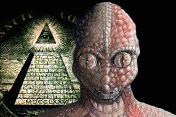 Image result for lizard people conspiracy