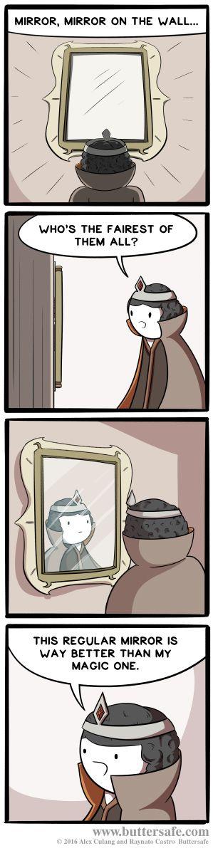 Who Needs a Magic Mirror?