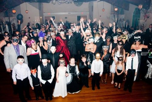 stories and photos from a variety of halloween weddings