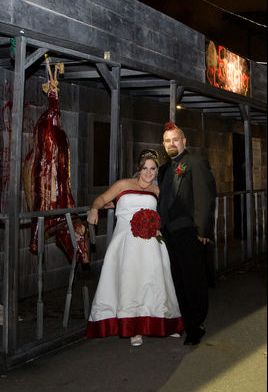 Tina And Rob Both Work At The Ohio Haunted House Called 7 Floors Of Hell.  In Fact, Itu0027s Even Where They Met, So The Hauntu0027s Graveyard Couldnu0027t Be A  More ...