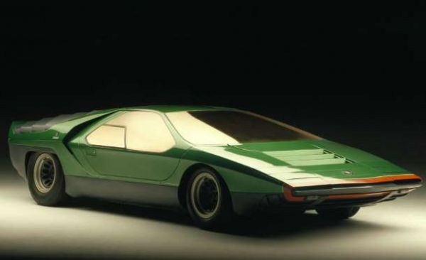... The Rounded And Bulging Curves Of Sports Cars Past To The Sharp Edged  And Totally Spacy Look Of The Future Began In 1968 With The Alfa Romeo  Carabo.