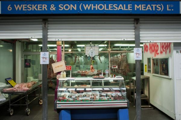 The renowned Smithfield Meat Market in East London is hosting a pop-up ...