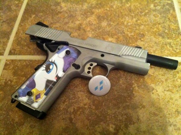My Little Pony Handgun Neatorama