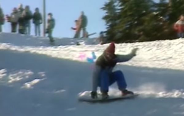 The New Sport of Snowboarding