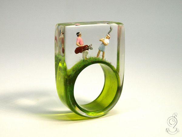 Jade Wedding Ring 40 Fancy
