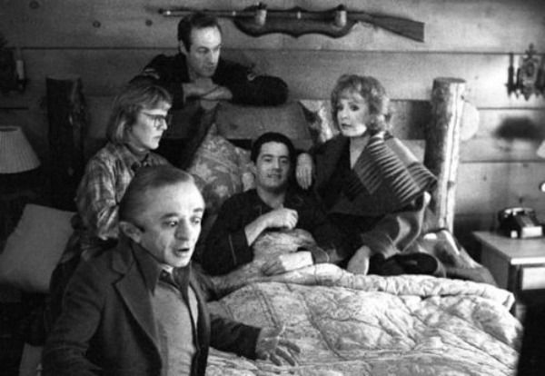 Photos From The Set Of The Original Twin Peaks