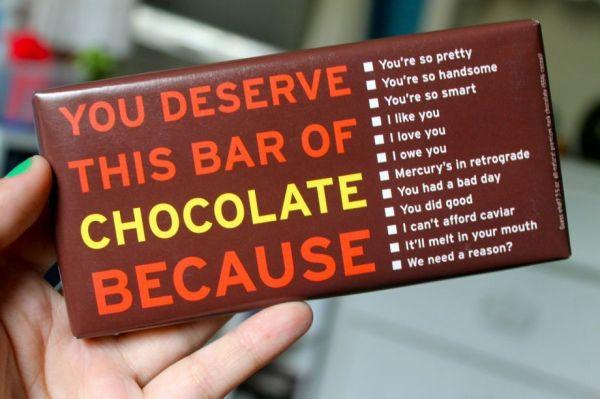Chocolate Excuses - Neatorama