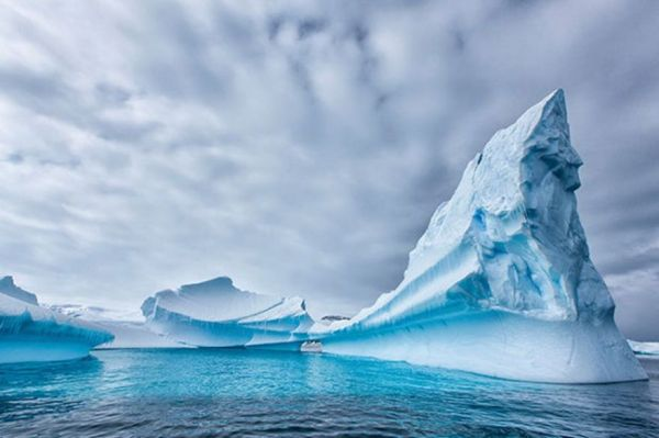 Icebergs of the Antarctic: A Photo Series