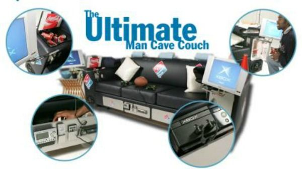 Eleven inventions to help couch potatoes stay firmly for 0 1 couch to fridge