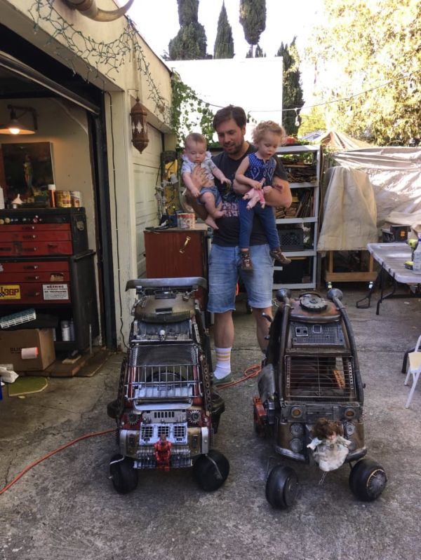 Mad Max Toddler Cars