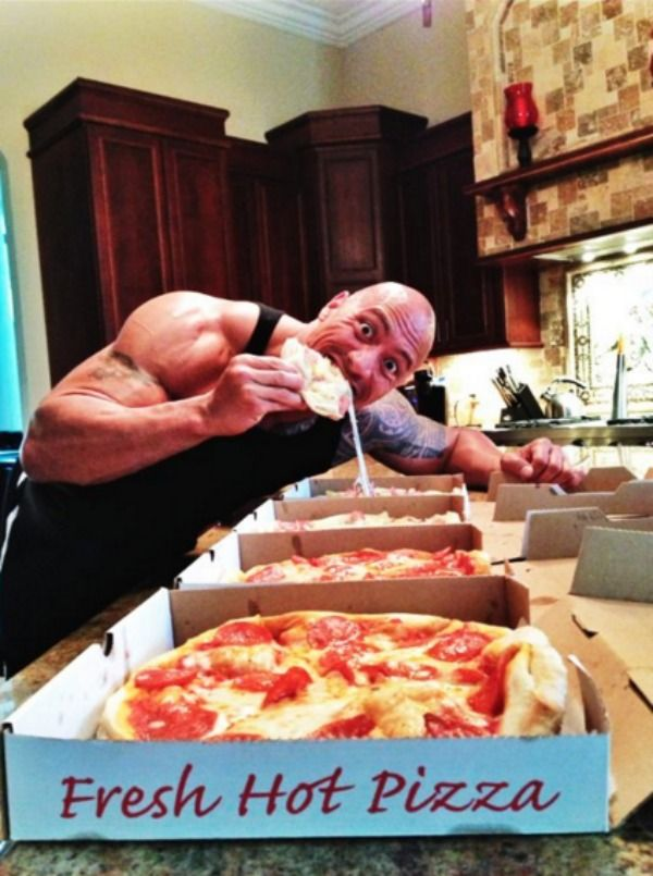 These Pics Prove The Rock Is Truly A God Amongst Men
