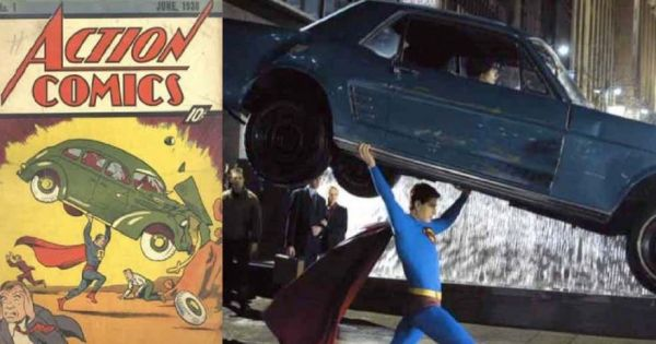 Iconic Comic Book Images Recreated In The Movies