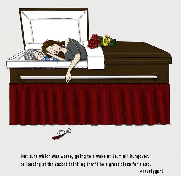 casket nap