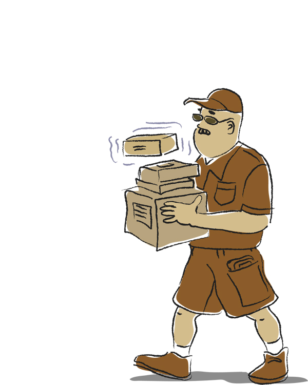 delivery driver clip art - photo #42