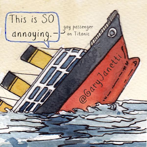 funny tweets titanic