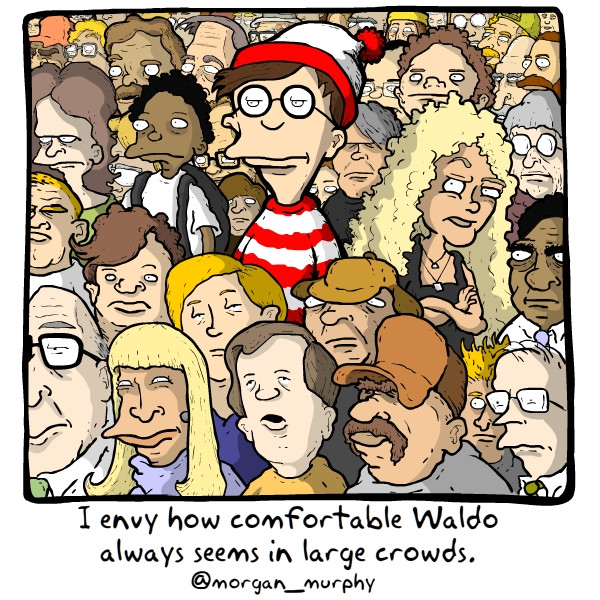 where's waldo cartoon