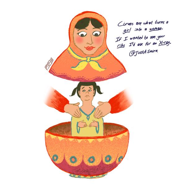 matryoshka cartoon