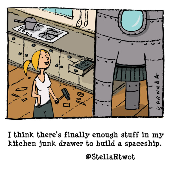 spaceship cartoon
