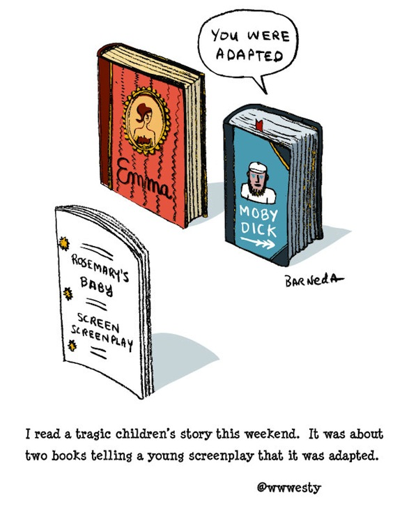 Adoption Cartoon