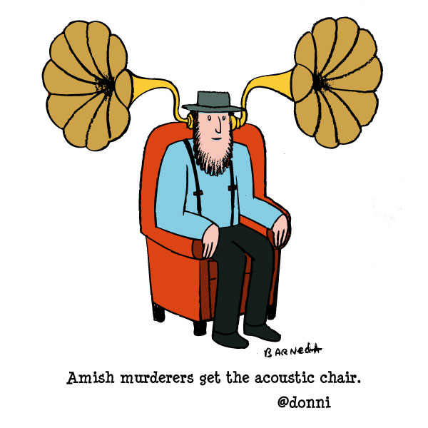 amish cartoon
