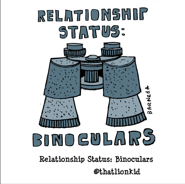binocular cartoon