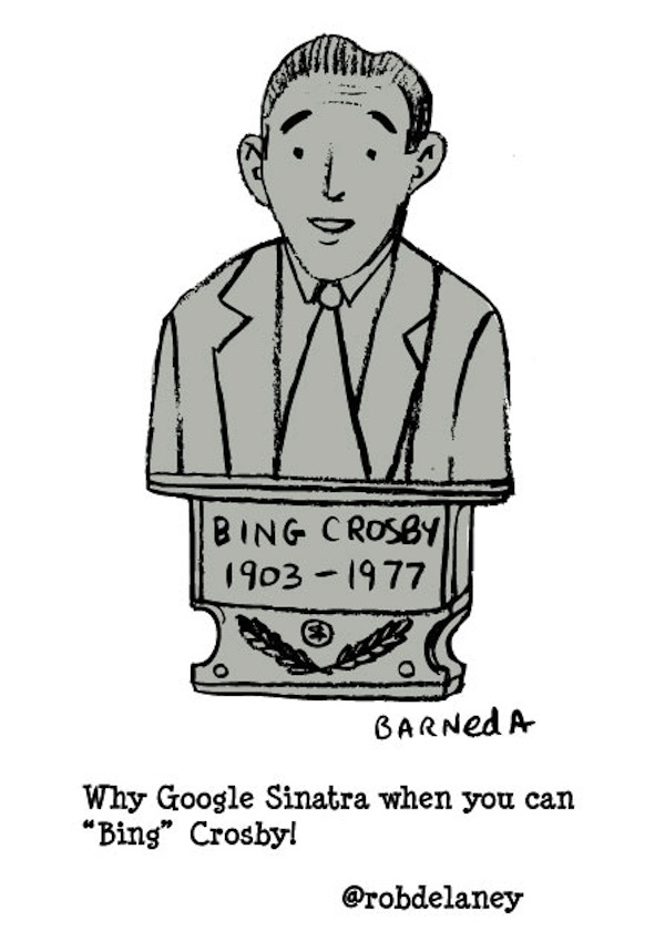 Bing Crosby Cartoon