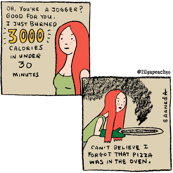 oven cartoon
