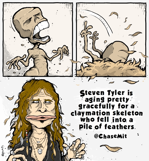 Steven Tyler Cartoon