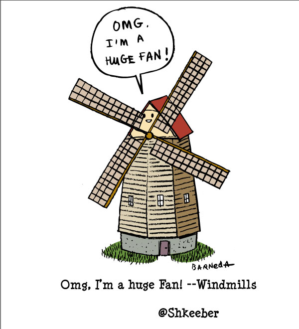 windmill cartoon